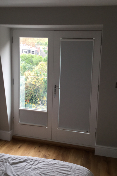 Nano Blinds For Juliet Balcony Doors