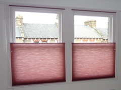 duette bottom up blinds using a cord control Tufnell Park