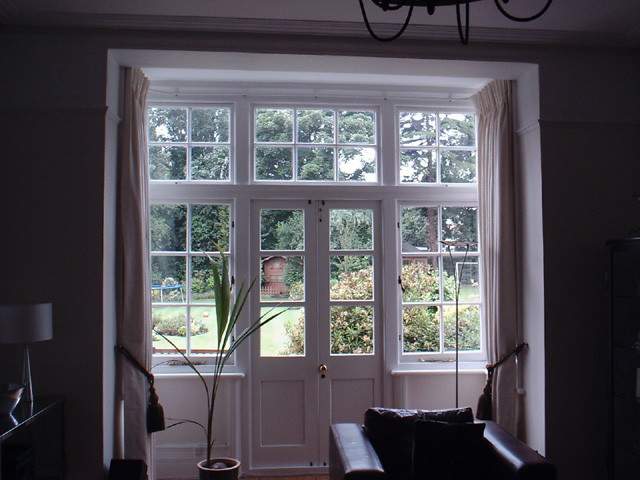 square bay window curtains quotes