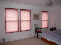 Duette blinds fitted in Tufnell Park