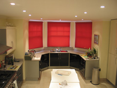 kitchen roller blinds Muswell Hill