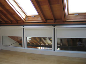 Electric motorised roller blinds installed in Highgate North London