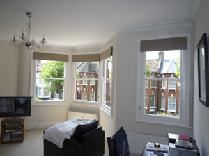 Roman Blinds installed Stamford Hill North London