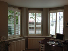 MDF shutters with 63mm louvers Highgate