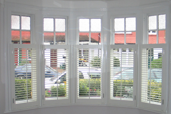 bay window privacy with a view