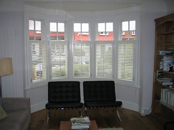 bay window privacy from the inside