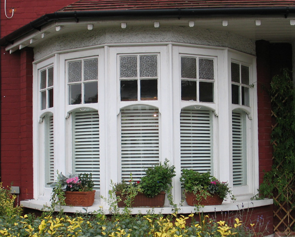 bay window privacy from the outside