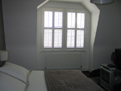 MDF shutters with 64mm louvers Highgate